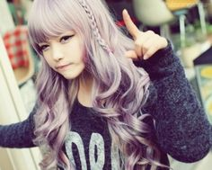 I want lilac hair.