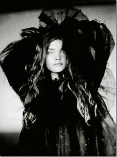 Natalia Vodianova in Vogue Italia 2004