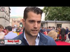 Henry Cavill The Man From U.N.C.L.E Premiere Interview