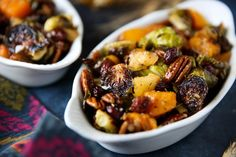 Thanksgiving Brussels Sprouts and Mushroom Gratin - PaleOMG Vegetarian Recipes, Cooking Recipes, Healthy Recipes, Vegetable Recipes, Paleo Meals, Clean Recipes, Yummy Recipes, Paleo Thanksgiving, Thanksgiving Blessings