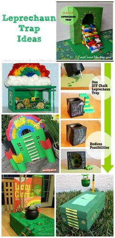Leprechaun Traps (Collection of Ideas) - Moms & Munchkins
