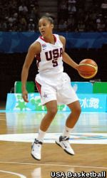 Notre Dame senior All-America guard Skylar Diggins has been named to the USA Basketball 3x3 National Team that will compete in the inaugural FIBA 3x3 World Championships Aug. 23-26 in Athens, Greece. (Credit:USA Basketball)