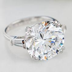 Bella Luce Dillenium Cut Ring In Sterling Silver