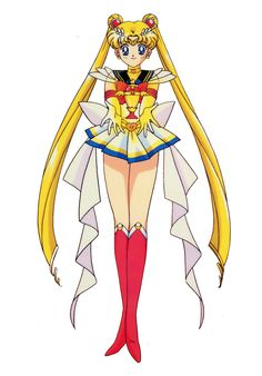 Super Sailor Moon with Holy Graal