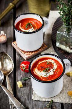 Krem z pieczonych pomidorów - CookMagazine
