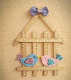 Diy Crafts For Gifts, Crafts To Make And Sell, Fun Crafts, Crafts For Kids, Paper Crafts, Lolly Stick Craft, Diy Popsicle Stick Crafts, Burlap Crafts, Christmas Ornament Crafts
