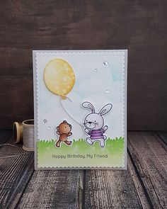 Same stamp and die from previous card I'm really having fun using all my barely used stamps and giving them love Stamp and Die are all from #mftstamps #rmcards #distressink #diycards #copic #copiccoloring #cards #stamping #diecutting #birthdaycards