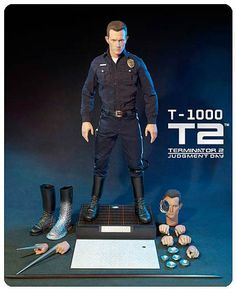 Terminator 2 Judgement Day T-1000 1:4 Scale Figure