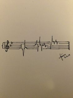 Honestly, if I ever got a tattoo it would probably be something like this. #MusicTattooIdeas