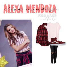 Alexa Mendoza Alexa and Katie Outfits