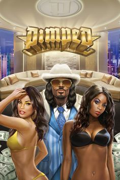 Pimped by Play n Go provides a snapshot into the life of the rich and famous, with the highest-paying symbol looking rather like Snoop Dogg. With a hip-hop theme and an abundance of expensive symbols, this free slots game is ideal for those looking to escape from the day-to-day menial tasks of life. Free Slot Games, Free Slots, Play N Go, Online Casino Games, Snoop Dogg, Slot Machine, Abundance, New Zealand, Hip Hop