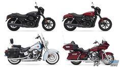 Harley-Davidson divulga modelos da linha 2016