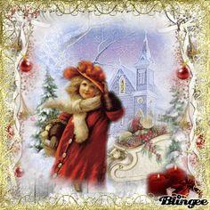 <3 Vintage Christmas Greeting <3