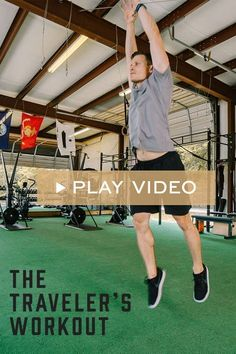 Don't let your busy schedule be an excuse for missing your workout. We teamed up with David De Leon, Owner of Of The Lion Fitness t Wellness Tips, Health And Wellness, Tabata Workouts, Stay Active, Gym Rat, Weight Loss Tips, Basketball Court, Fitness, Travel