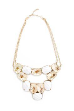 Opal Sesame Stone Necklace