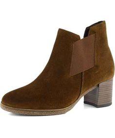 Gabor hnědé dámské kozačky a kotníkové boty 8c00ad35b8