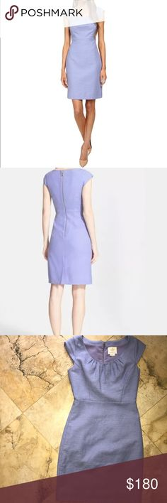 Kate Spade lavender purple sheath tweed dress 4 Excellent used condition. Perfect spring/Easter dress. PTP Is 17in. Length is 37in. kate spade Dresses Mini