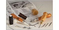 Tandy Leather Deluxe Hand Stitching Set 11191-00 * You can get more details by clicking on the image.