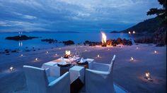 Koh Samui Dining | Dinner on the Beach | Four Seasons Resort Koh Samui