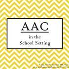 FREE at TPT:  AAC Presentation.  Need something to help convince personnel at your school to  implement and use AAC with your students?  Have personnel who are unfamiliar with AAC?...
