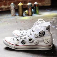 Custom converse are great as people can express themselves through their shoes