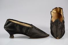 Slippers, 1775-1795, The Met
