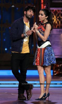 Shahid Kapoor and Shraddha Kapoor of Promotions for their Film Haider