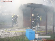 Small house fire at Vienna / Austria #firefighters