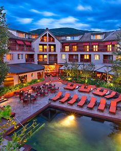 The Aspen Mountain Club at The Little Nell, Colorado