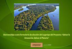 Salvar la Amazonia. Salvar el Planeta.: ¿ELEGIMOS EL LOGOTIPO? ¡A VOTAR!