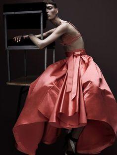 Libra Scorpio Cusp - Marikka Juhler by Raf Stahelin for Garage Magazine - http://www.simplysunsigns.com