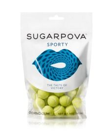 Maria Sharapova Candy Line  Adorable Sporty Tennis Ball  Gum!