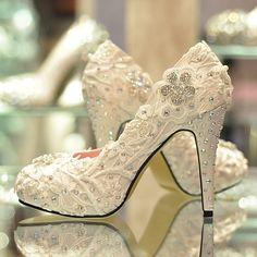 wedding shoes #wedding #shoe #lace #pretty #cute #weddingshoes #bride #brideshoes #notmine #piperstudios
