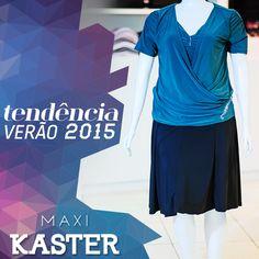 Para este verão aposte em roupas leves e elegantes #maxikaster #tendência #trend
