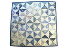 Mini Pinwheel 1930s Quilt Kit for Decoration or Doll