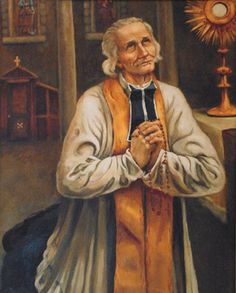 It is glorious to be able to please God, so little as we are! Our tongue should be employed only in praying, our heart in loving, our eyes in weeping. We are great, and we are nothing…  -St. John Vianney