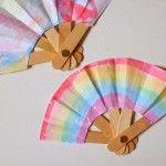 Laboratori per bambini ventaglio colorato