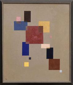 Kandinsky 13 rectangles 1930 Musée de Nantes Rmn