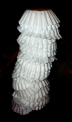 Coffee Filter Towers - - Pinned by #PediaStaff.  Visit http://ht.ly/63sNt for all our pediatric therapy pins