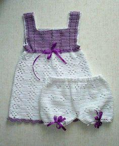 Vestidos de ganchillo: Diseños para niñas (Foto 18/20) | Ellahoy