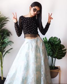 Cheap Fashion Women S Clothing Indian Fashion Dresses, Indian Gowns, Fashion Outfits, Fashion Top, Cheap Fashion, Indian Wear, Fashion Women, Indian Skirt And Top, Long Skirt And Top