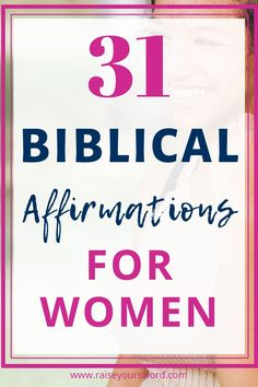 31 Biblical Affirmations for women. Daily biblical affirmations will change your life and grow your faith through scripture. Start declaring these 31 biblical affirmations over your life today. #biblicalaffirmations #declaringbiblicalaffirmations #women #biblicalaffirmationsforwomen #biblicalaffirmationstruth #freeprintable Christian Affirmations, Affirmations For Women, Christian Women, Christian Quotes, Inspirational Quotes For Women, Motivational Quotes, Spirit Of Fear, Identity In Christ, Biblical Inspiration