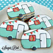 Handmade Decorated Sugar Cookies for every occasion Summer Cookies, Fancy Cookies, Cute Cookies, Cupcake Cookies, Cookie Favors, Heart Cookies, Cookie Frosting, Royal Icing Cookies, Camper Cakes