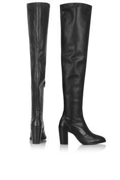 //COMMANDER thigh high boots//