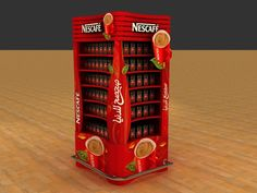 Nescafe Pillar by Hossam Moustafa, via Behance