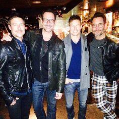 @gregoryzarian in @mrturk and leather. Good choice! #mrturkclub