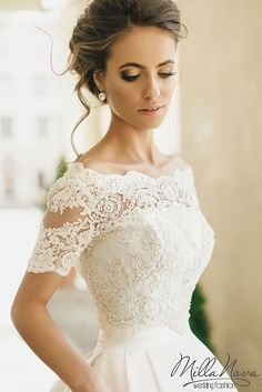 MILLA NOVA 2016 WEDDING DRESSES - Elegant Wedding: Bridal Gowns 2017, Wedding Trends For 2017, Wedding Ideas, Themes, Cakes, Reception Venues, Montreal, Real Weddings, Magazine, Photo Toronto, Canada, United States