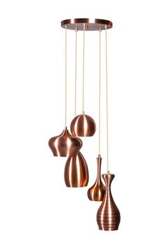 Ajaccio hanglamp koper 40cm 5L