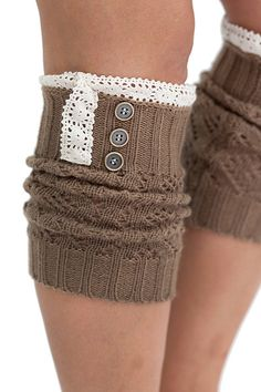 Boot cuffs are the cutest - Kristin