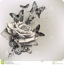 Image result for flying butterfly drawings with color